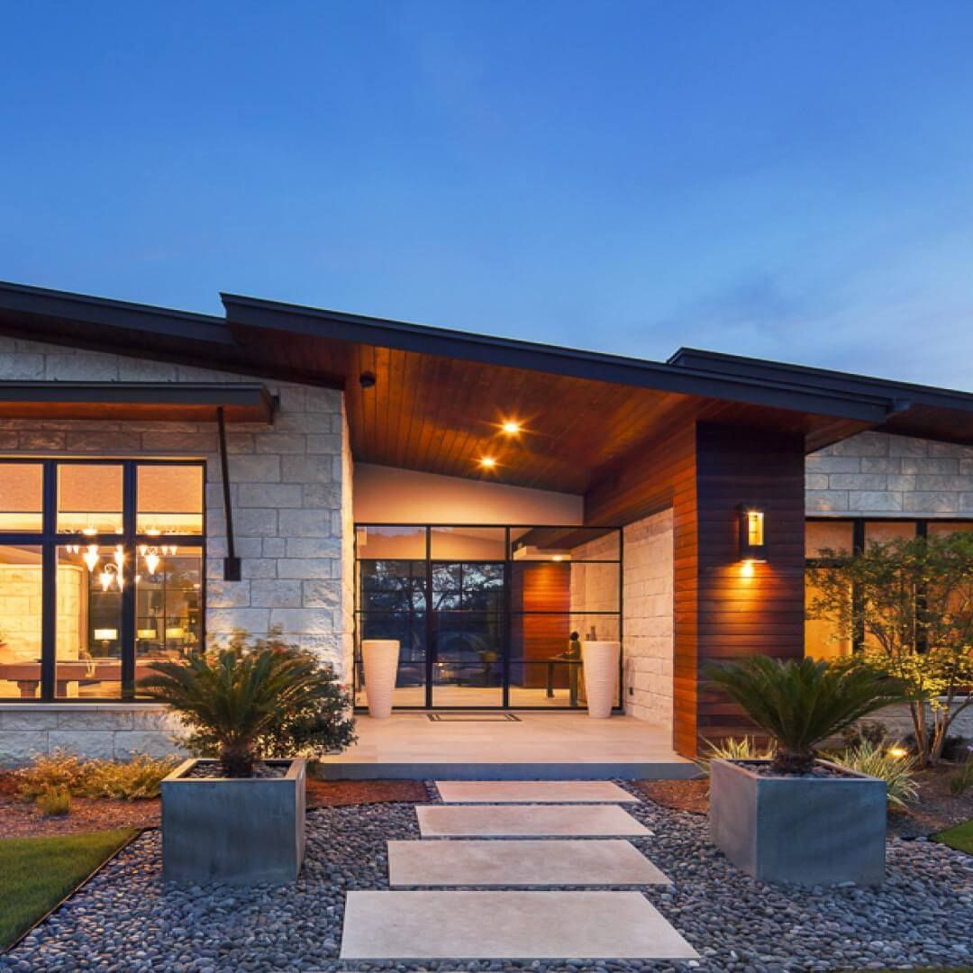 Modern Contemporary Homes Austin Texas