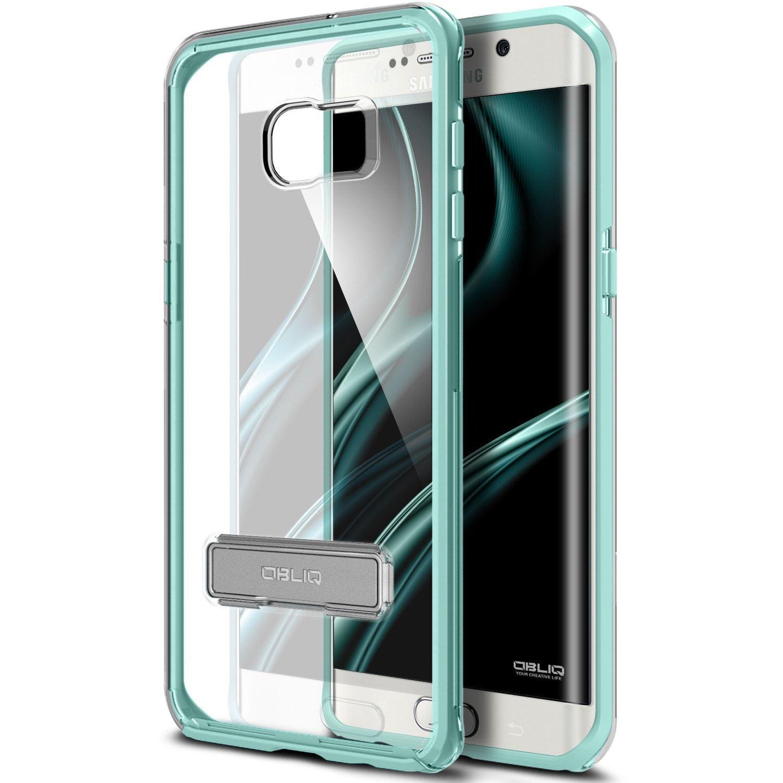 OBLIQ, Galaxy S7 Edge Case [Naked Shield][Clear] Metal