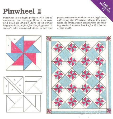 A Quilt of Quilts ~ Quilt /& Blocks Spinning Spools quilt pattern /& templates