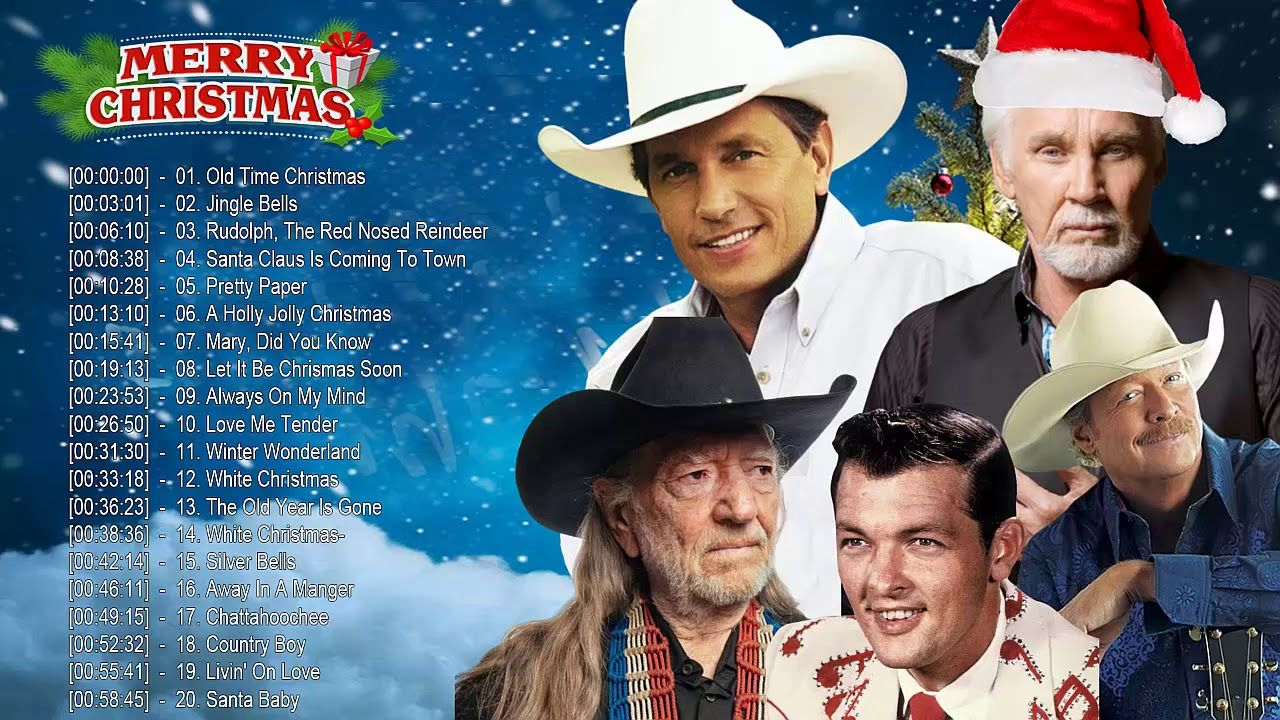 Kenny Rogers Alan Jackson Willie Nelson Bobby Helms George Strait C Alan Jackson Santa Claus Is Coming To Town Christmas Carol