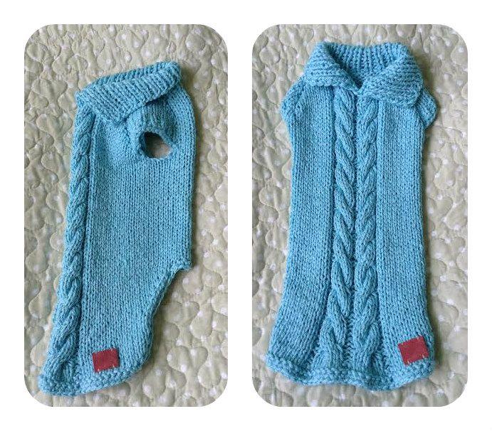 Dog Sweater Cable Knit   Ria   Pinterest   Hunde, Hundekleidung und ...