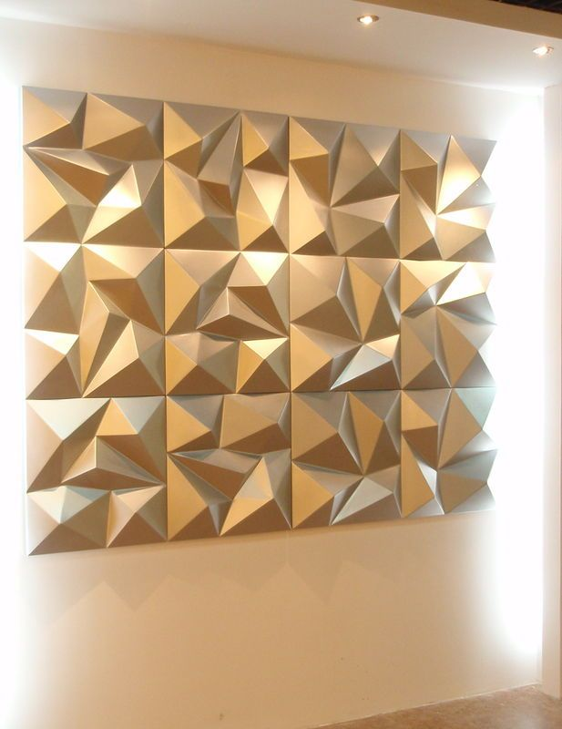 China Water Proof Modern Design Pu 3d Decorative Wall Panel For Ktv