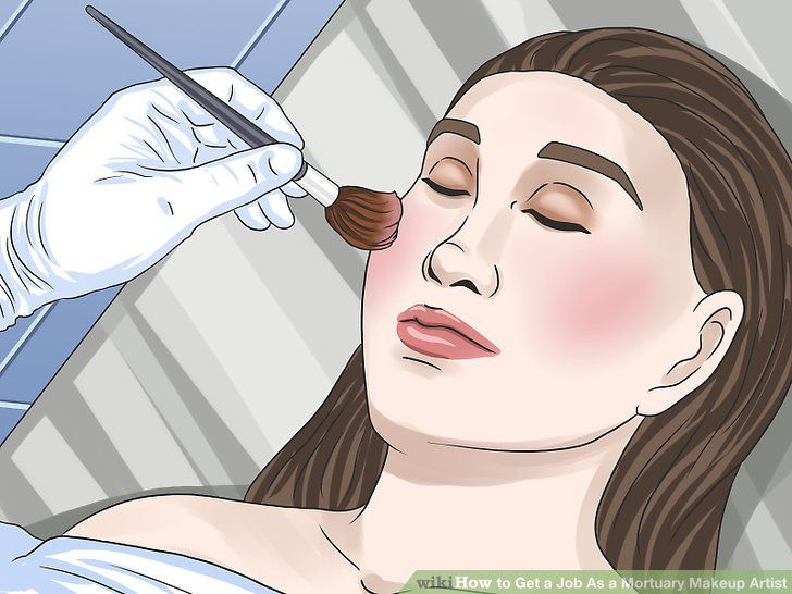 Makeup artist job