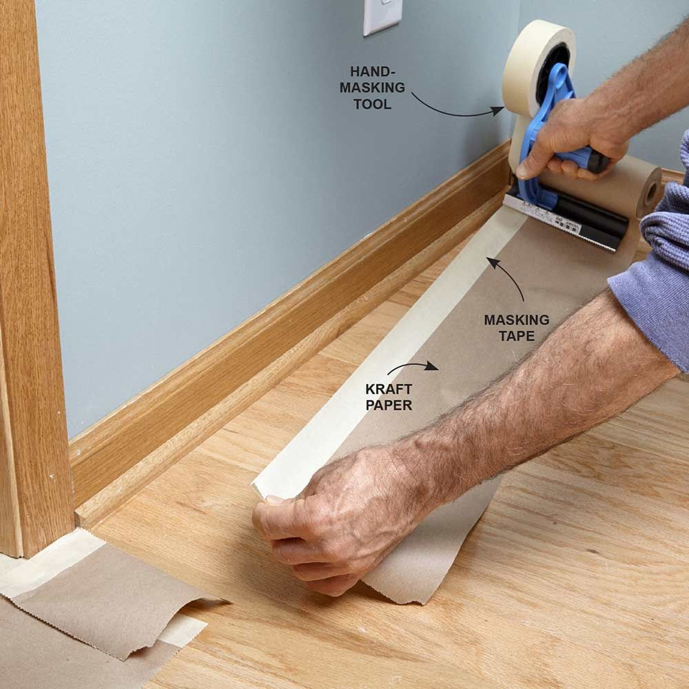 Tips For How To Use Painter S Tape Painting Trim Interior Paint Painters Tape
