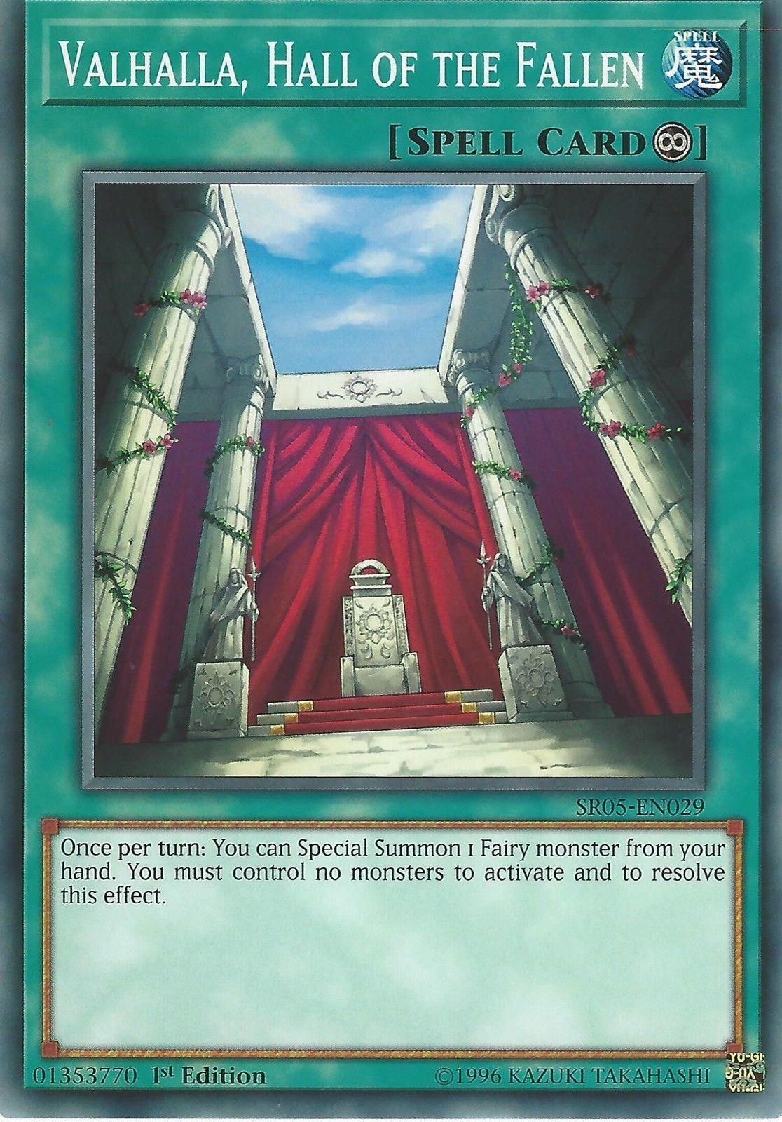 gbp x yugioh card valhalla hall of the fallen sr