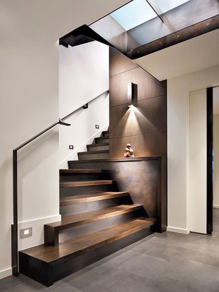 Corrimano e ringhiere per scale interne dal design moderno - Scale interne di design ...