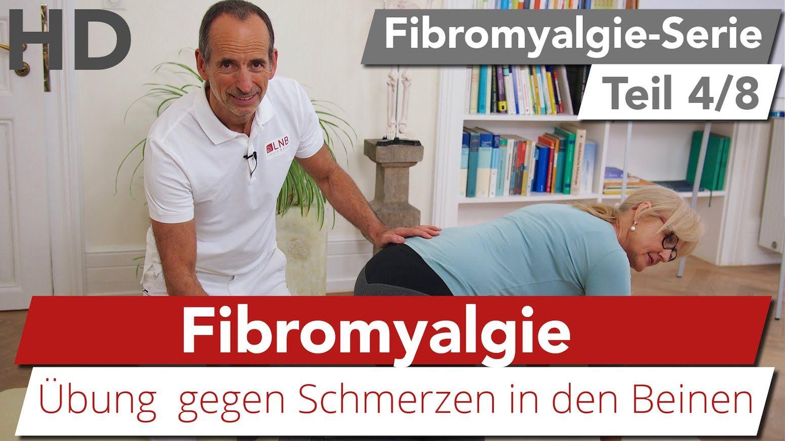 Fibromyalgie Übung // Beinschmerzen, Knieschmerzen, Faser..
