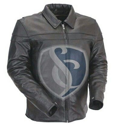 Leather fashion jacket. Made with Buffalo Matt leather with original YKK zippers and 100% polyester. Art#3009 www.stylightco.com