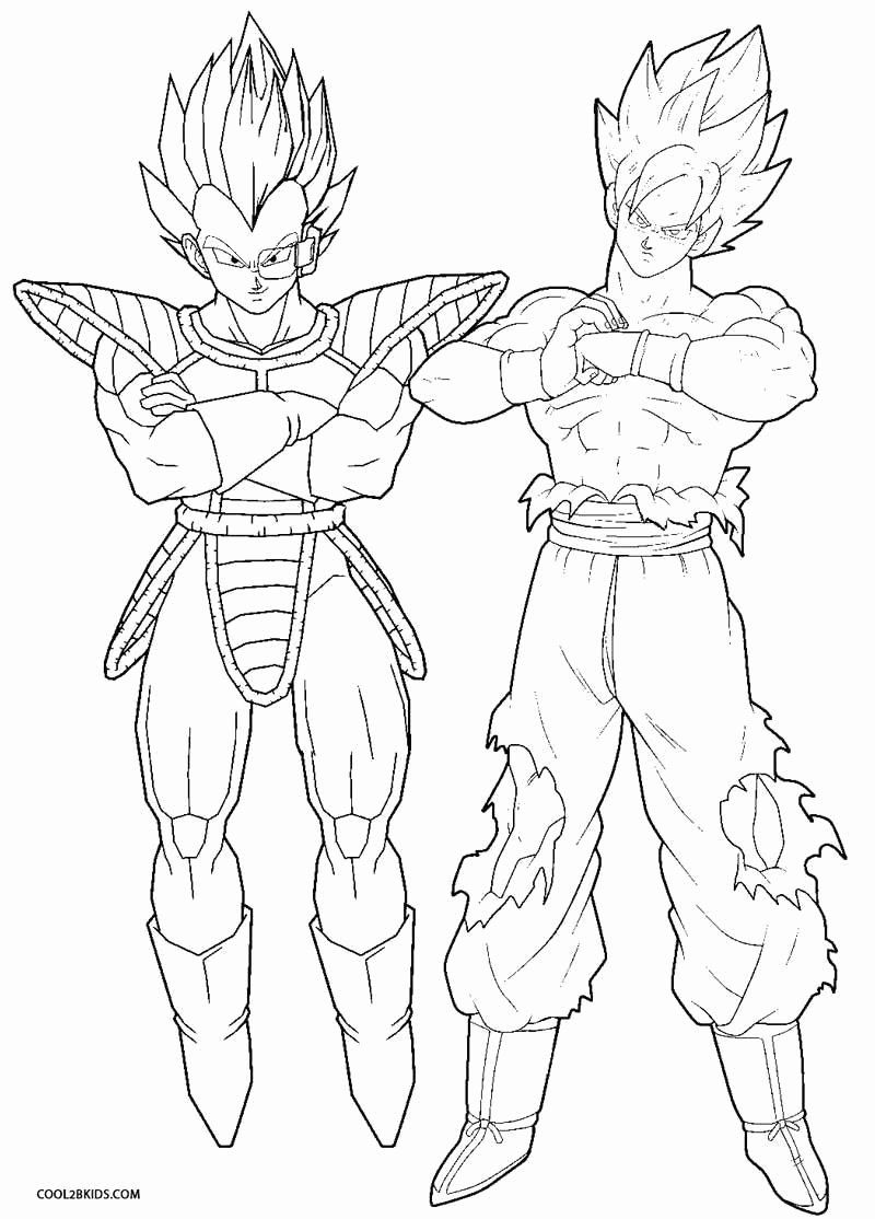 - 21 Dragon Ball Z Coloring Book In 2020 Cartoon Coloring Pages