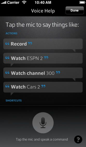 XFINITY TV X1 Remote Voice Control iPhone | Cable App