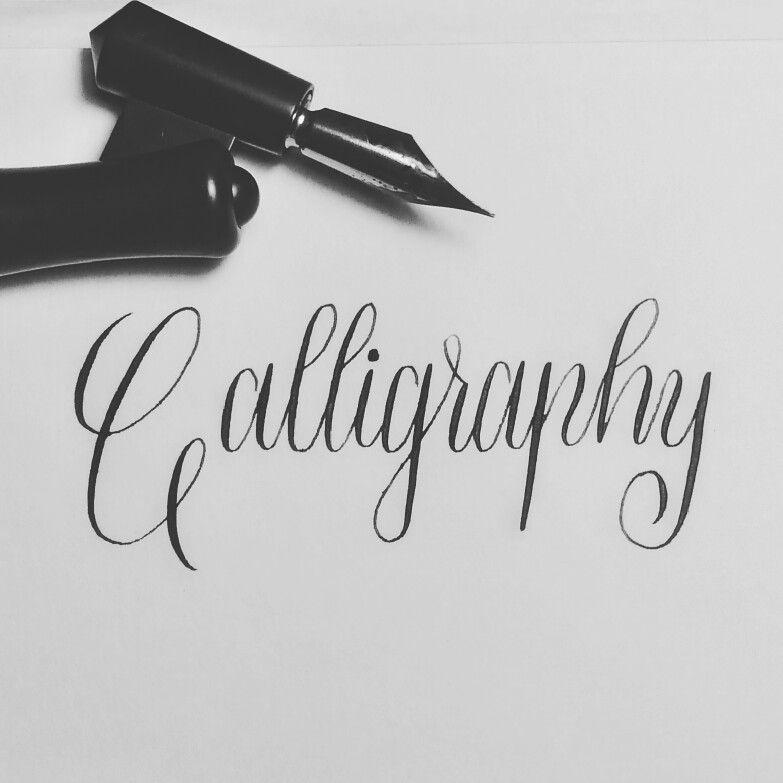 I love calligraphy!