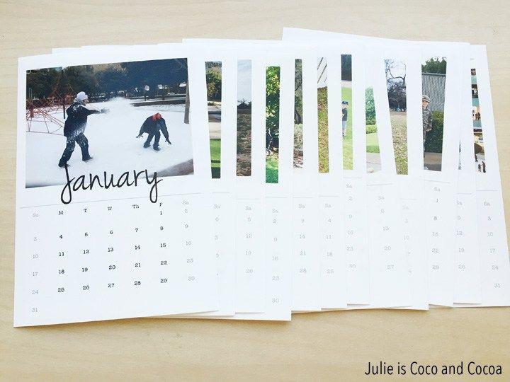 Photo Calendar Photo Calendar Calendar Personalised Calendar