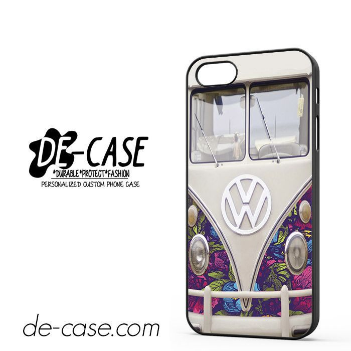 VW Floral Bus DEAL-11773 Apple Phonecase Cover For Iphone SE Case