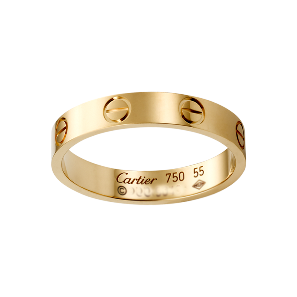 diamond yellow in setting cartier c trinity gold de decor double ring rings pink products wide and white size