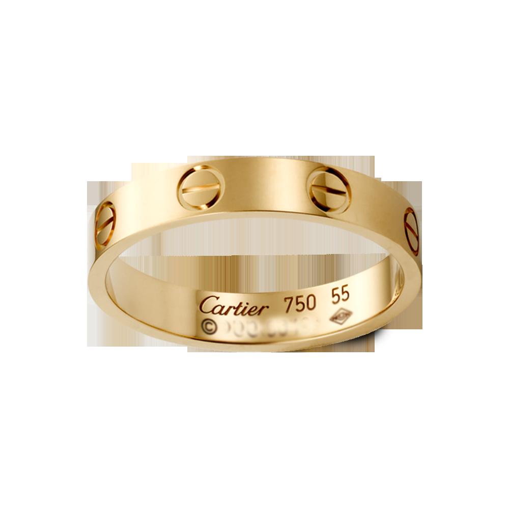 Replica Cartier Love Rings Pink Gold No Diamond Cartier