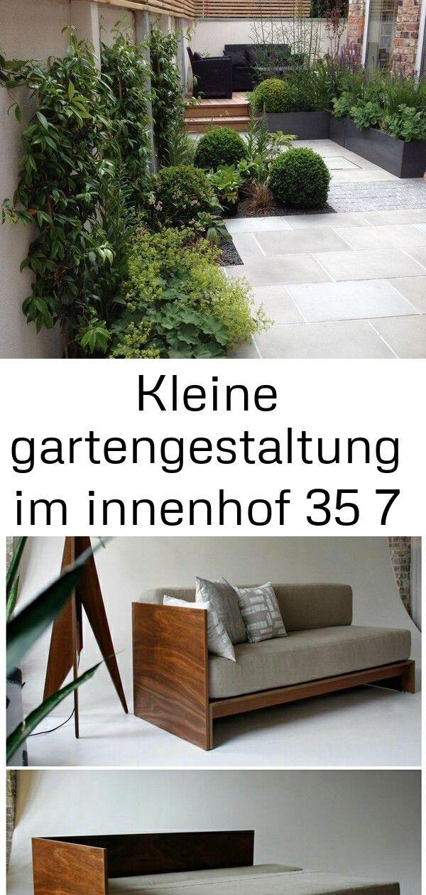 Kleine gartengestaltung im innenhof 35 7 #innenhofgestaltung