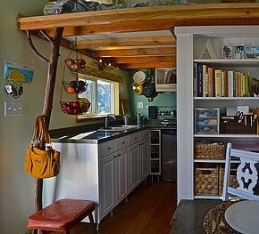 Chico Tiny House A Married Couple S 120 Square Foot Dream Small Tiny House Tiny House Listings Tiny House Inspiration