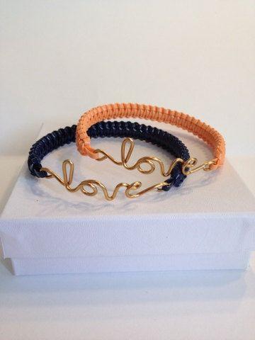 Love Bracelet by ByJGolden on Etsy, $7.75