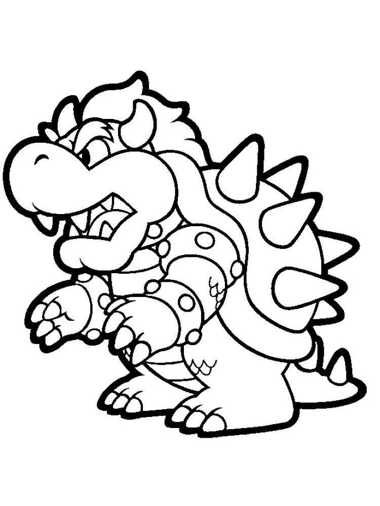 Printable Coloring Super Mario Odyssey : Free Mario Galaxy ...