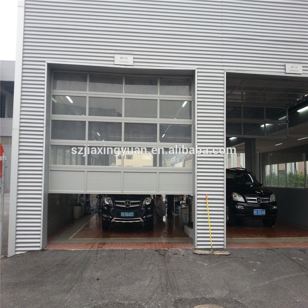 overhead glass garage door. Aluminum Sectional Insulated Transparent Glass Garage Door Photo, Detailed About Picture On Overhead N
