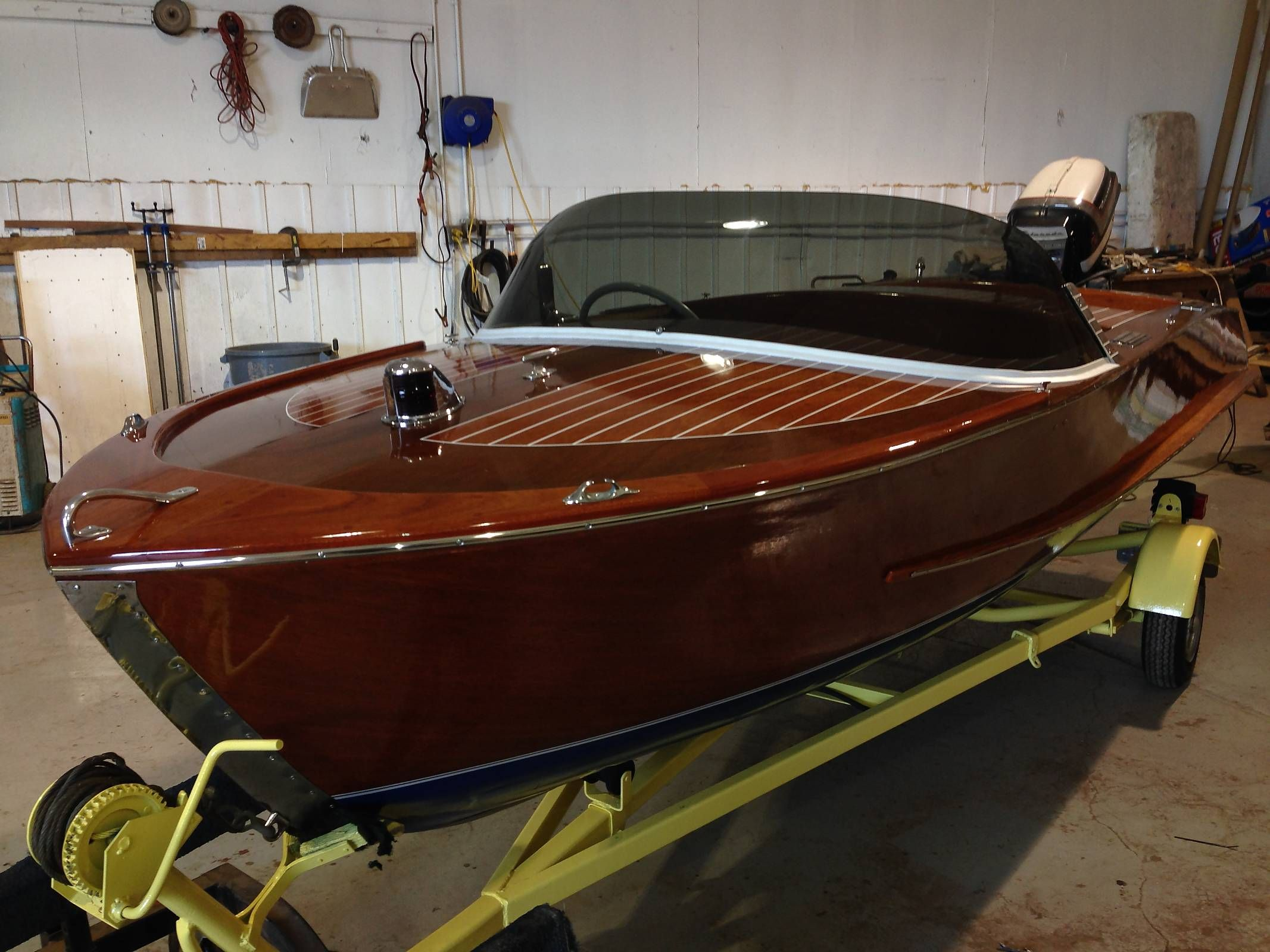 Home built jet dinghy s from new zealand boat design forums - 1957 Mahogany Delta With Fins Page 2 Boat Design Forums