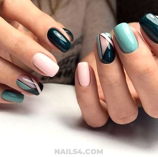 45 Cute And Simple Nail Art For School School Nail Art