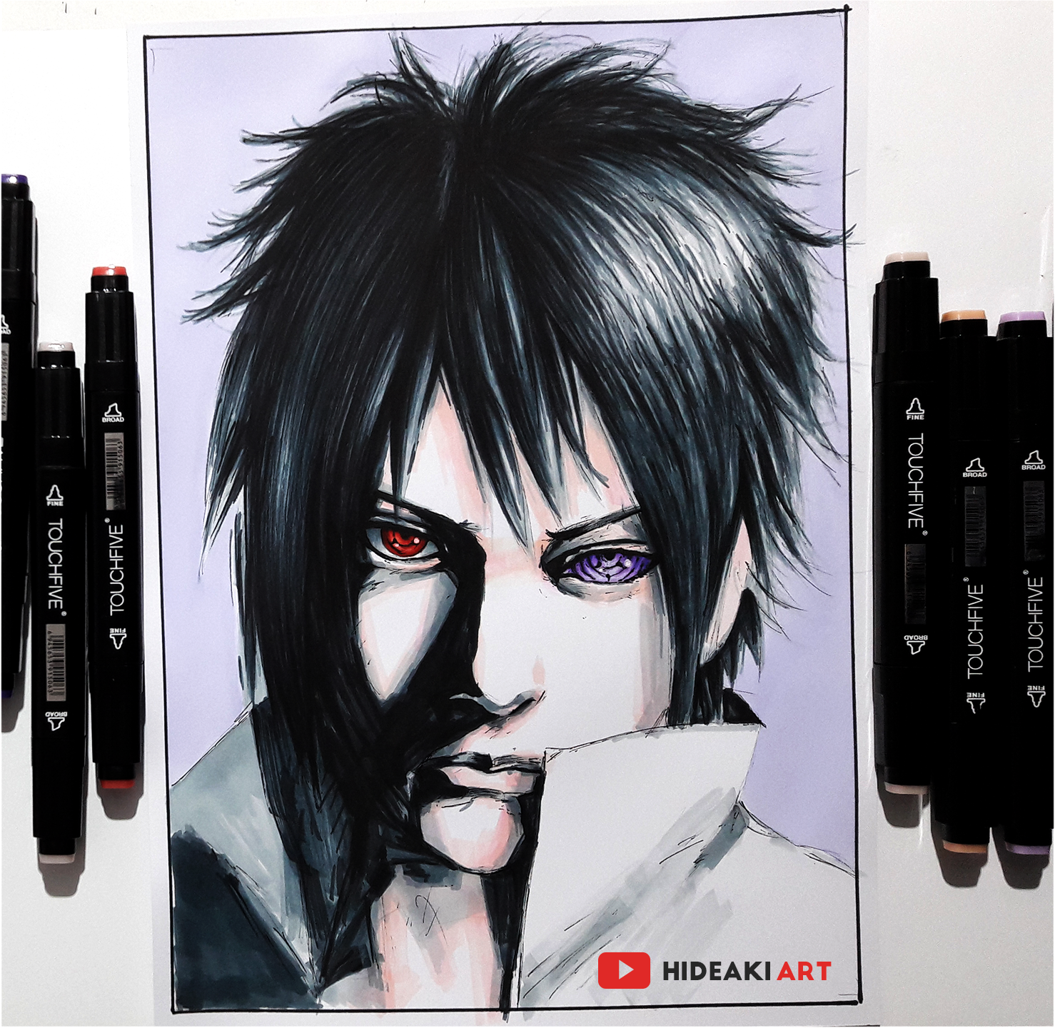 Sasuke From Naruto My Drawings Naruto Anime