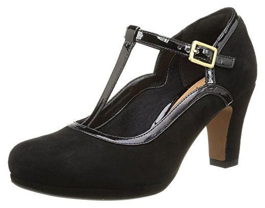 Clarks Angie Kendra High Heels Color: Black