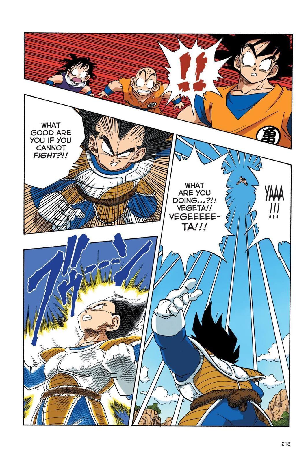 Dragon Ball Full Color Saiyan Arc Chapter 33 Page 5 Anime Dragon Ball Super Dragon Ball Artwork Dragon Ball Art