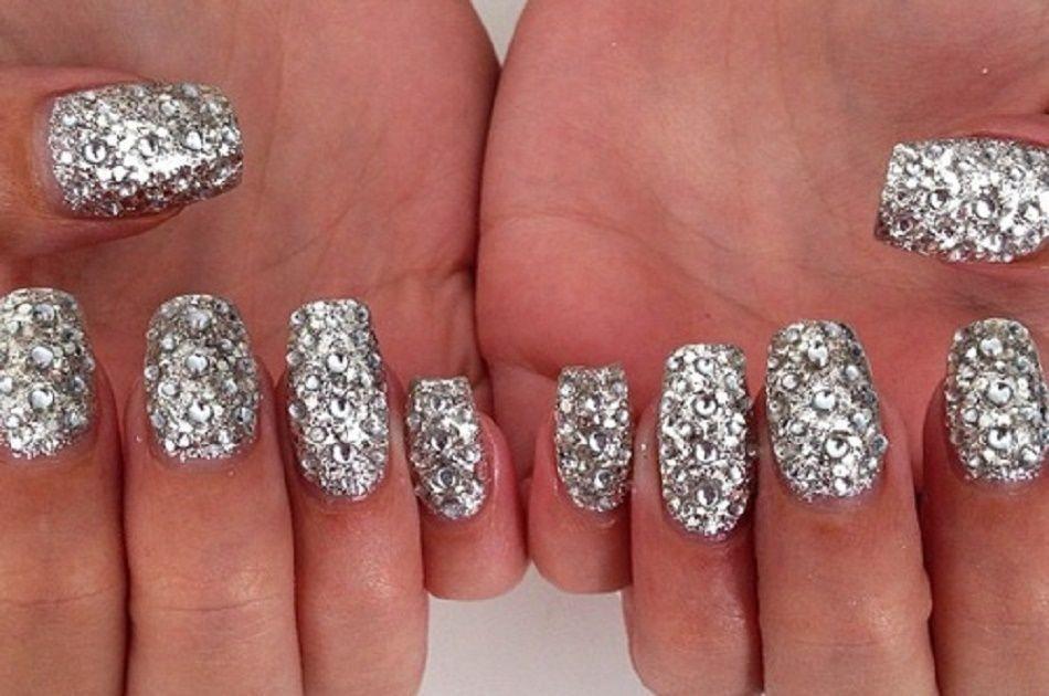 Most Pinned Diamond Nails On Pinterest Diamond Nails And Diamond