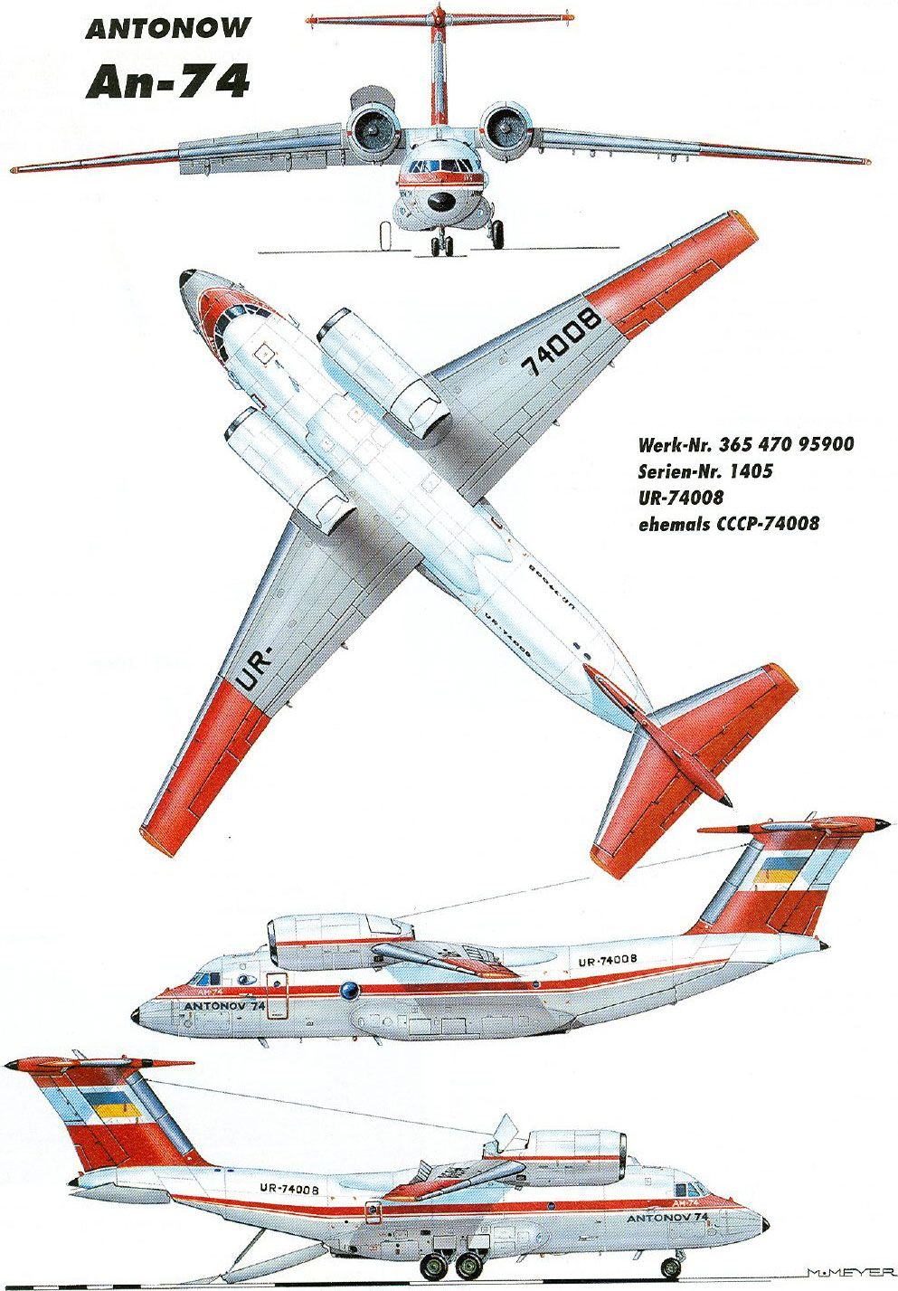 Antonov An74 Profile Aircraft Pinterest Airplane Wing Parts Suppliers Fighter Air Jets Jet