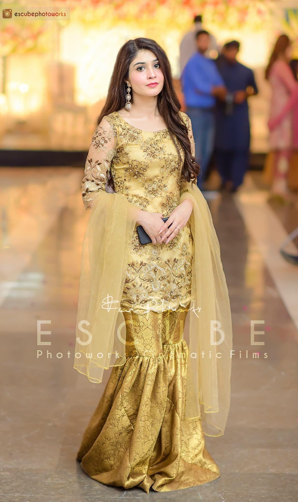 Pin By Jowairiah Ahmad On Shadi Dresses In 2019 Dresses Pakistani