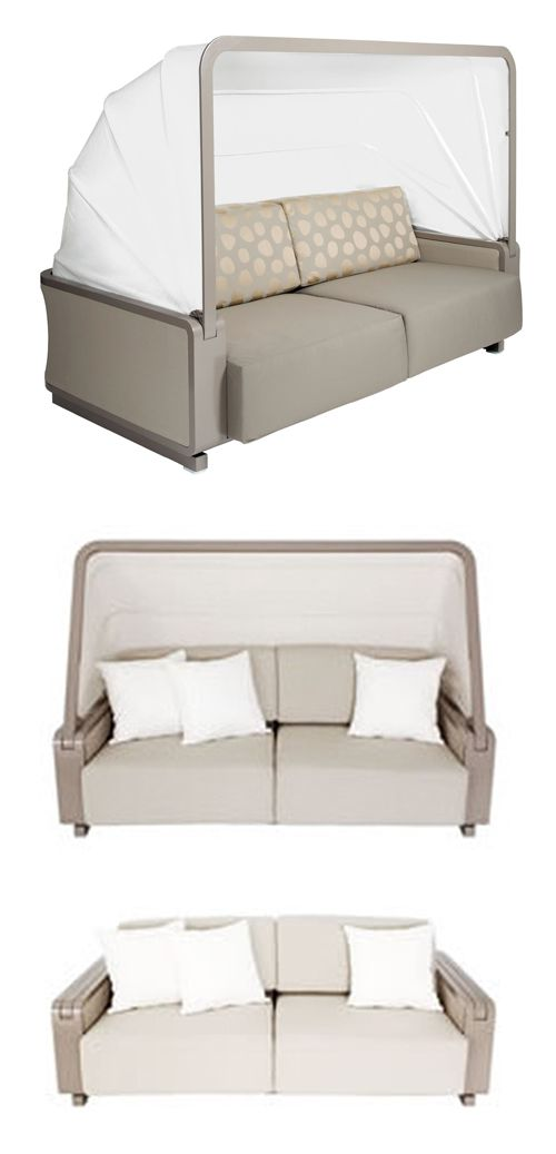 Folding Canopy Sofa | Outdoor folding chairs, Home, Furniture