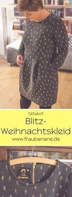 Photo of Mein Blitz-Weihnachtskleid – Chloe von Pattydoo – Fraubanane