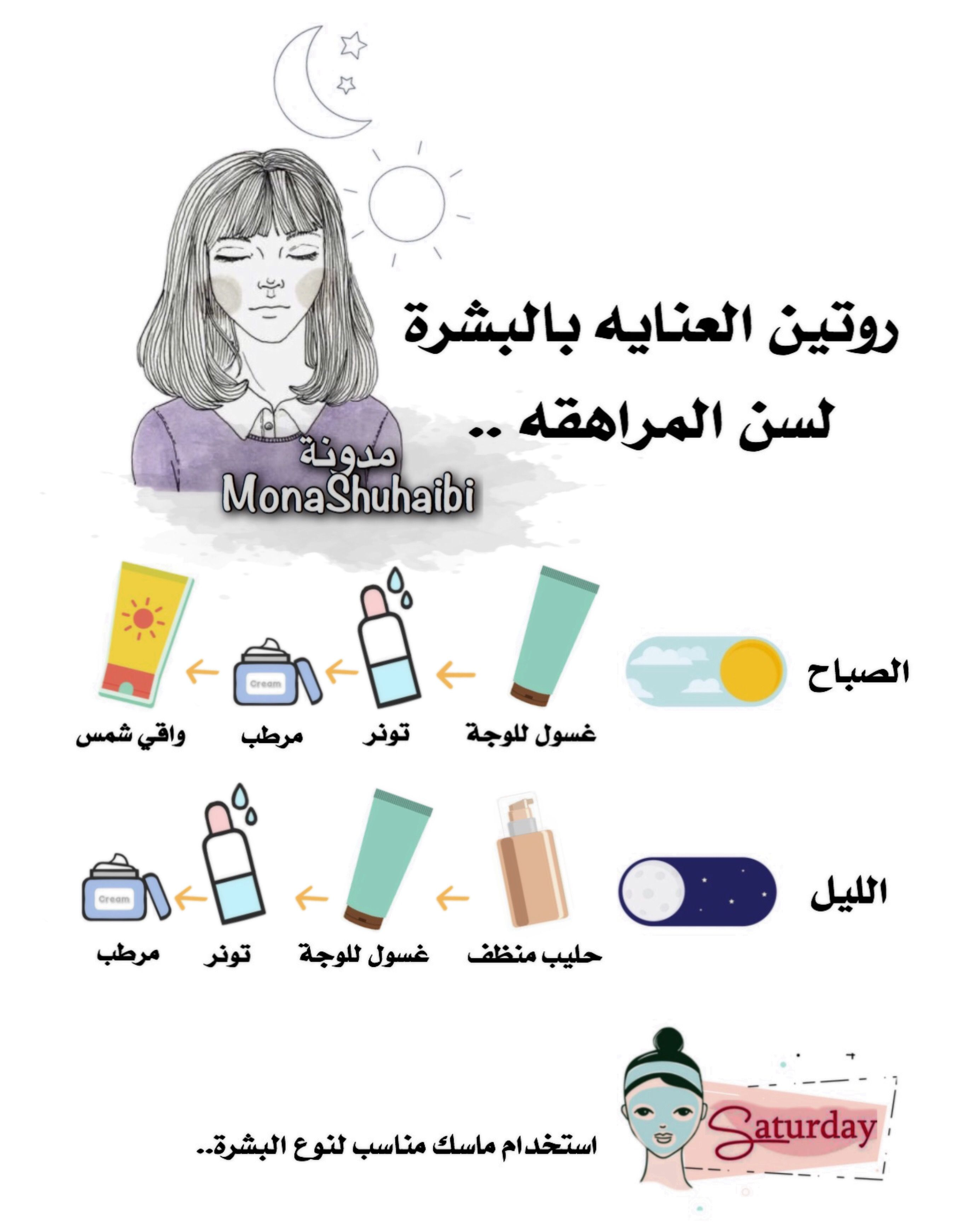 روتين عنايه In 2021 Diy Skin Care Routine Pretty Skin Care Skin Care Diy Masks