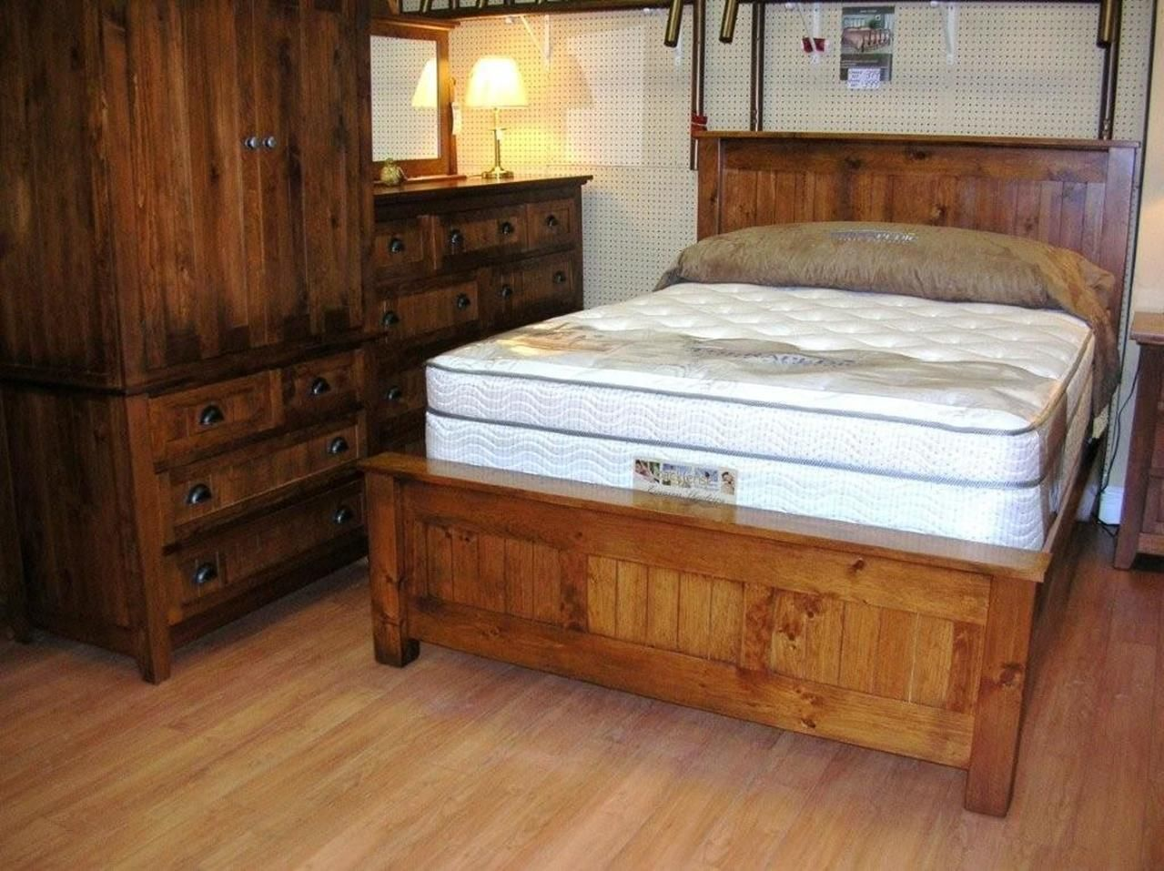 Rustic Wood Bedroom Furniture 36 #palletbedroomfurniture