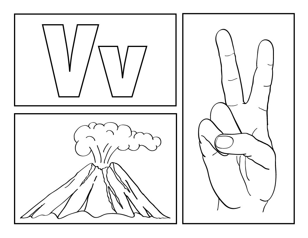 Sign Language Alphabet Abc Coloring Sheets Amp Room Border