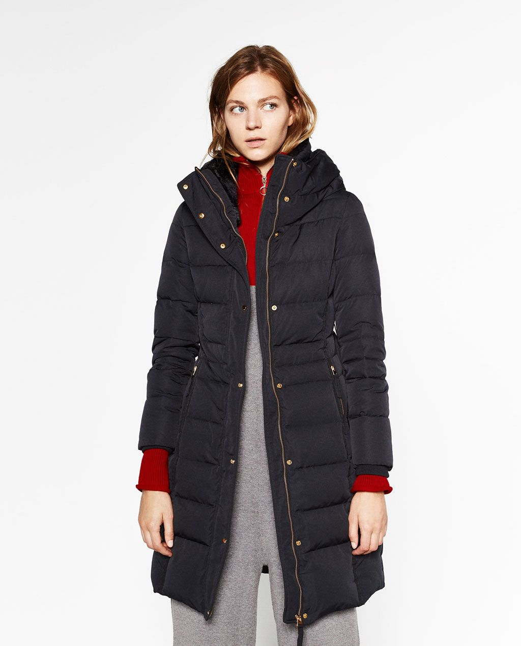 c583b27b Image 1 of LONG WATER REPELLENT ANORAK from Zara | Fashion ...