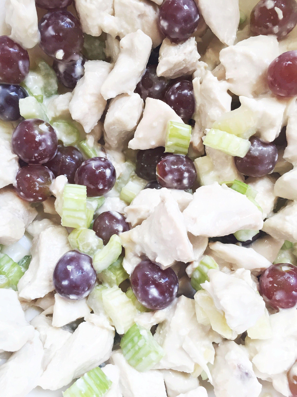 Macrofriendly chicken salad macro friendly recipes