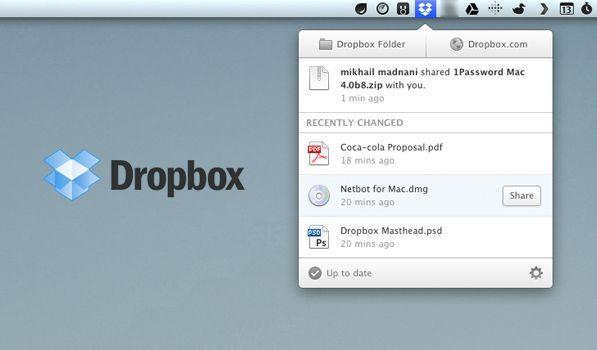 New dropbox app for mac free