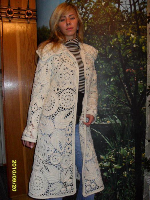 Alisa: Irish Crochet Jacket.