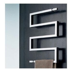 Scirocco by Nameeks Snake 50 Wall Mount Hydronic Towel Warmer - A TOWEL WARMER!!?? <3