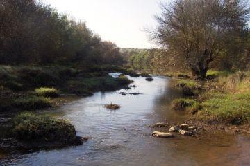 Ríos de la vertiente atlántica. Río Matachel, afluente del Guadiana por la izquierda.