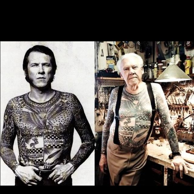 Who Says Tattoos Don't Age Well..