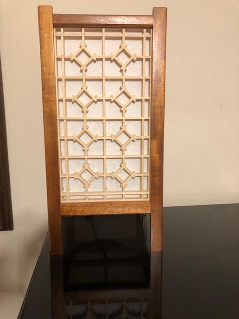 Kumiko Table Lamp In 2020 Table Lamp Lamp Salon Interior Design