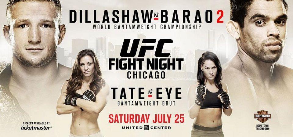 Dillashaw Vs Barao 2 Finally Ufc Fight Night Ufc Fight