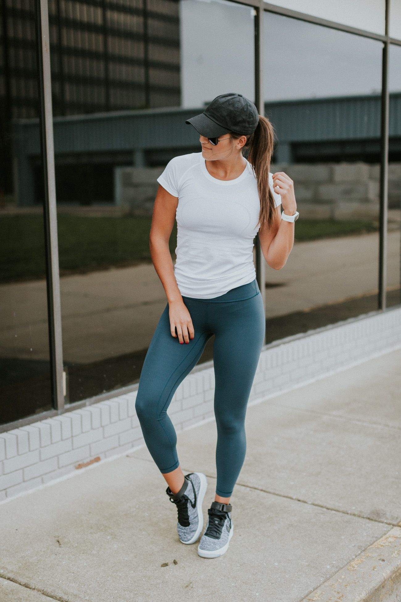 Lululemon + Nike outfit | Workout attire, Athletic outfits