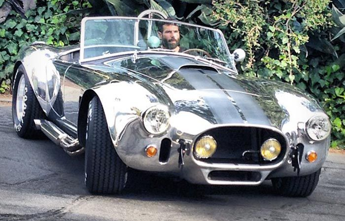 Dan Bilzerian Shelby Cobra 427, one of the rarest model,with