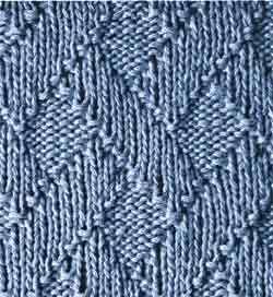 rechts links muster 4 yarn. Black Bedroom Furniture Sets. Home Design Ideas