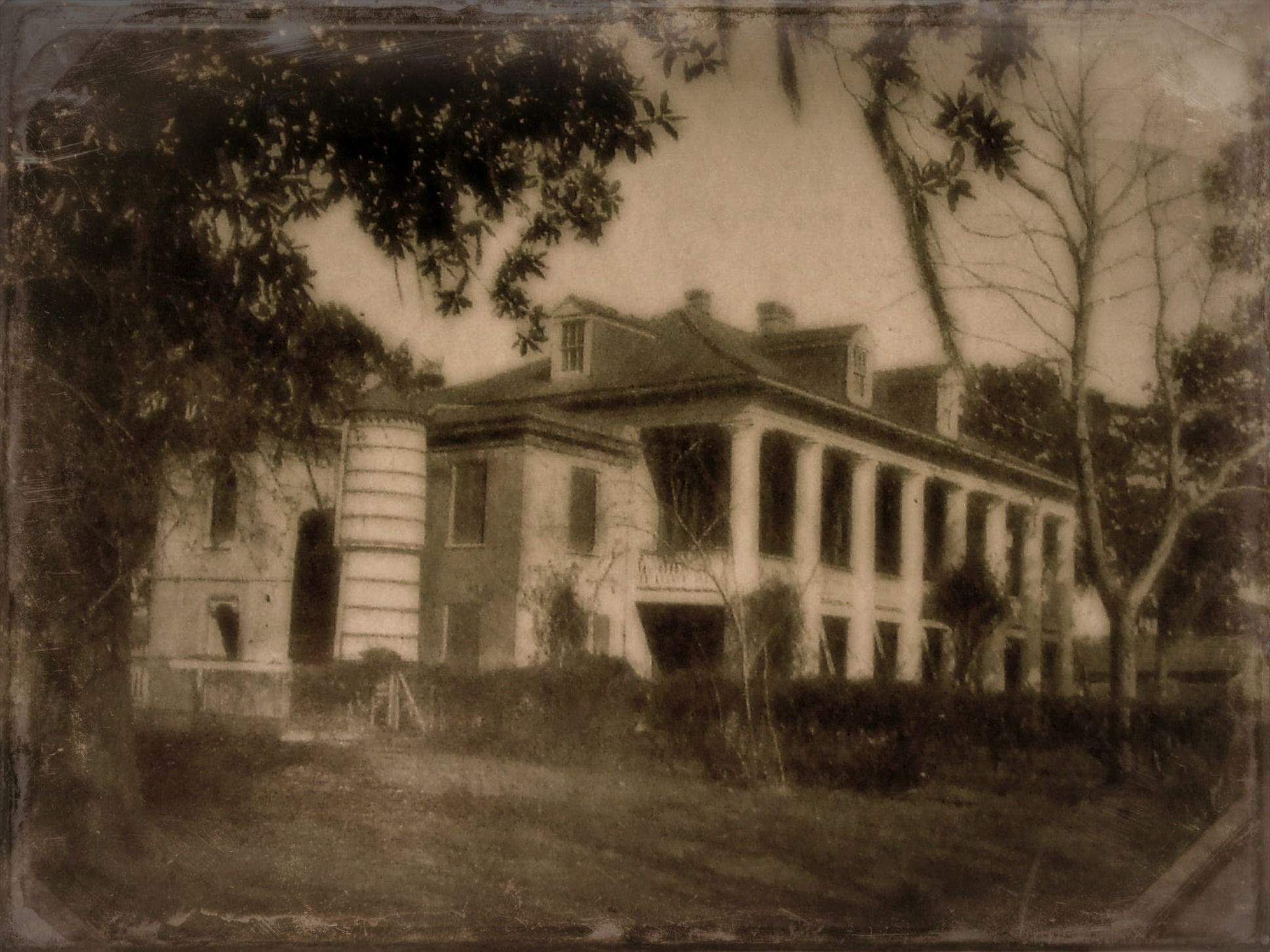 Jackson's Headquarters at Chalmette in the late 1800s